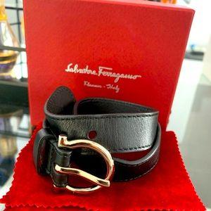 Salvador Ferregamo Double wrap bracelet
